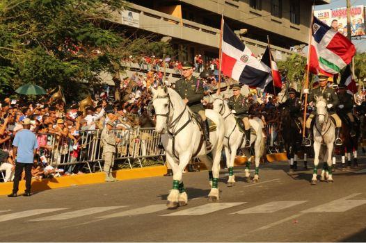 Desfile militar y escolar con motivo 174 aniversario Batalla de Santiago 30 de Marzo (2)