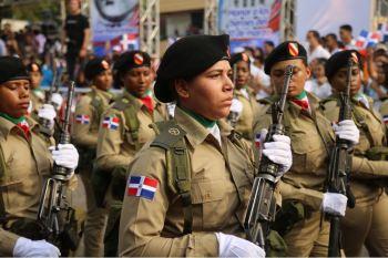 Desfile militar y escolar con motivo 174 aniversario Batalla de Santiago 30 de Marzo (6)