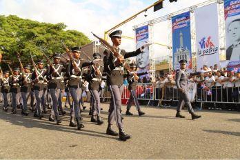 Desfile militar y escolar con motivo 174 aniversario Batalla de Santiago 30 de Marzo (9)