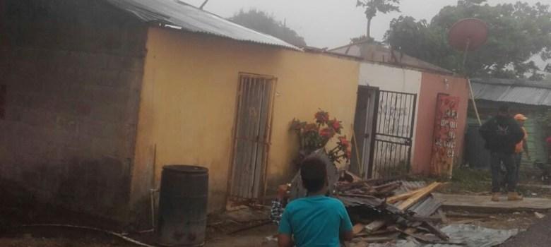 Ventarrón afecta algunas comunidades de Santiago
