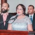 Ana María Domínguez Hernandez asume como gobernadora de Santiago