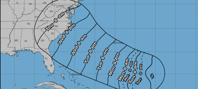Tormenta Florence se convertirá en huracán este domingo
