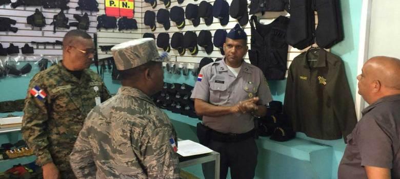 Interior y Policía clausura armería por violación a la Ley 631-16