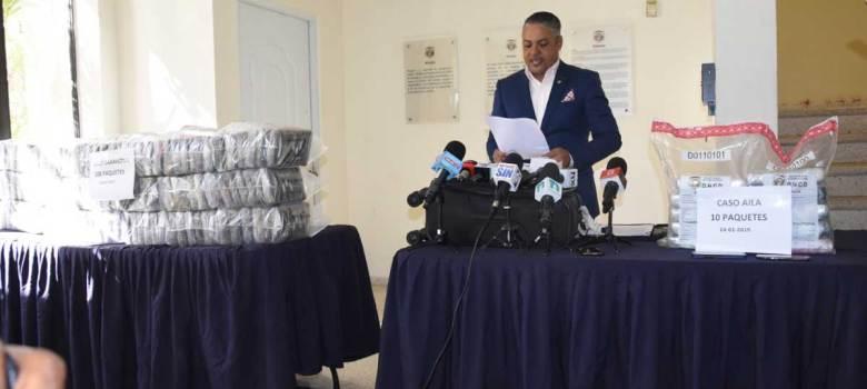Barahona: DNCD se ocupa de más de 100 paquetes de cocaína