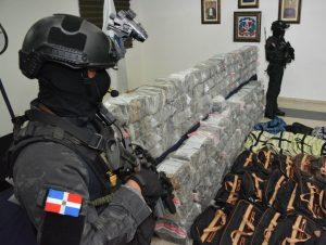 DNCD se incauta de 945 paquetes de cocaína
