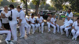 enfermeras paralizan santiago