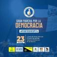 Partidos políticos cambian ruta a marcha