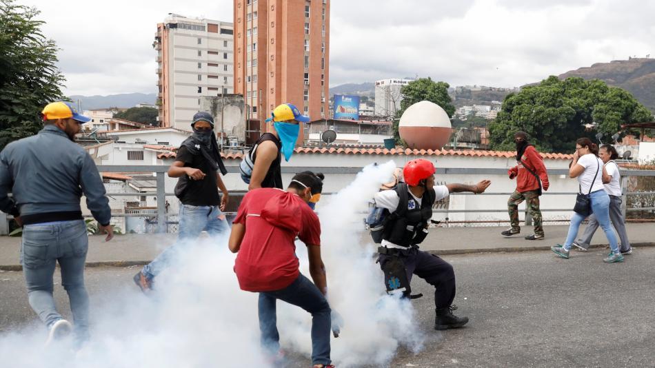 manifestaciones Venezuela 4 - El Sol Latino
