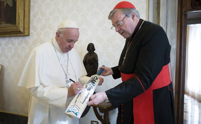 El cardenal Pel es Prefecto de la Secretaría Económica de la Santa Sede, número tres en la jerarquía vaticana. Foto cortesía