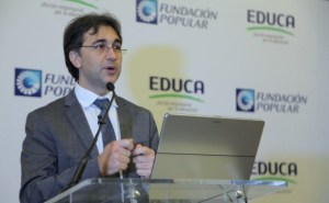 Enrique Darwin Caraballo, director ejecutivo de Educa. Foto cortesía
