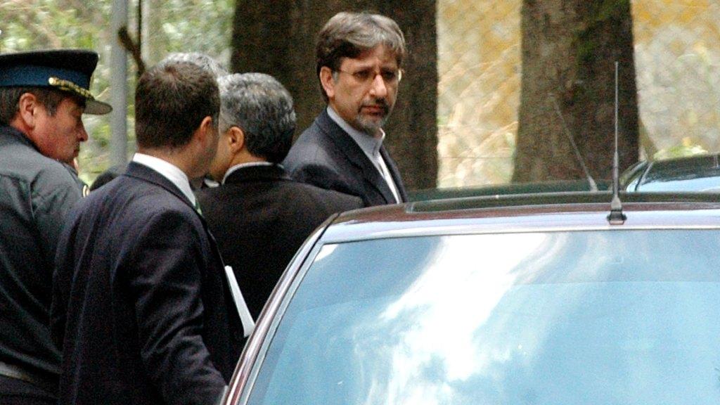 Mohsen Baharvand, funcionario del gobierno de Irán. Foto cortesía