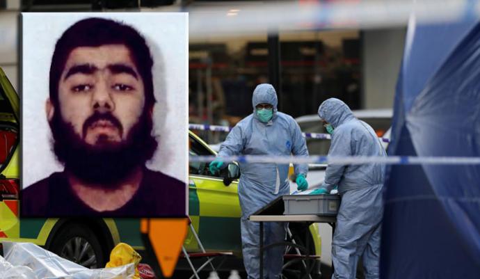 Usman Khan causó dos muertes en el centro de Londres la tarde del viernes. Foto cortesía