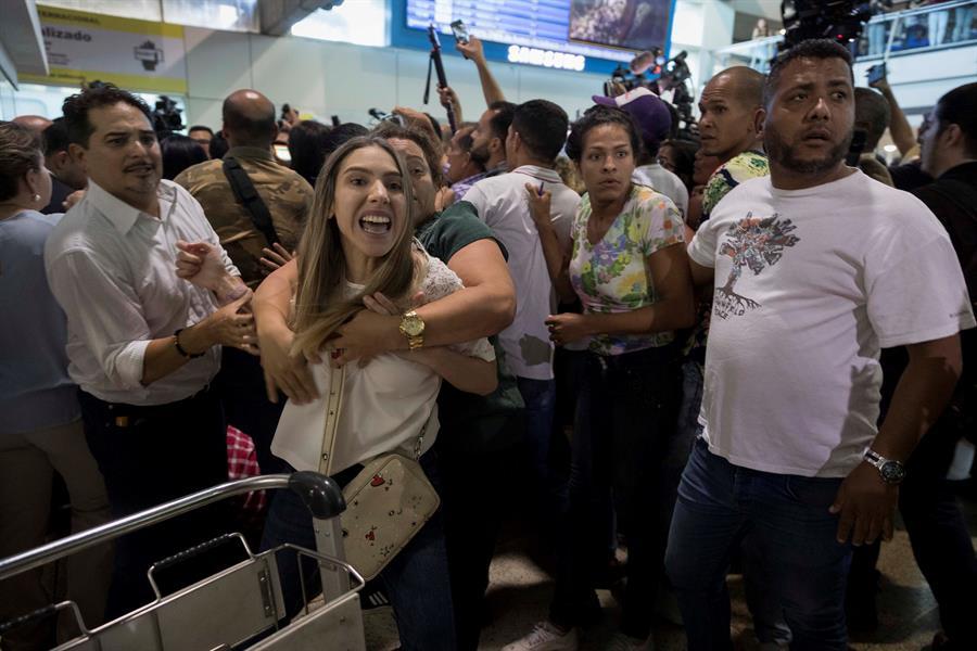 Juan Guaidó regresó a Venezuela 2 - El Sol Latino