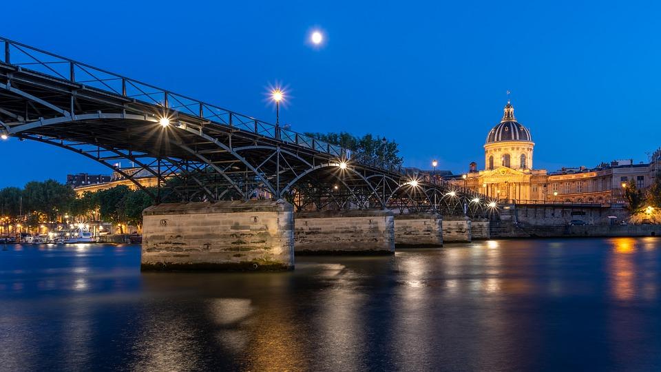 Pont des Arts, París. Foto cortesía