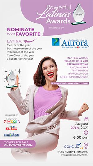 Powerful Latinas Award