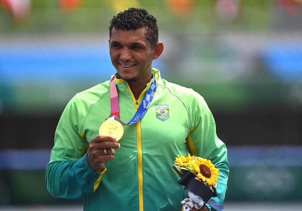 Isaquias Queiroz (Canotaje). Foto AFP