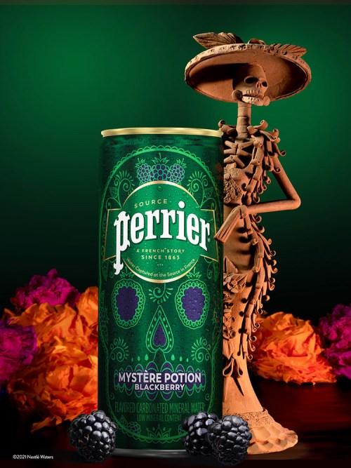 Perrier presenta Lata de Edición Limitada Inspirada en el Día de los Muertos