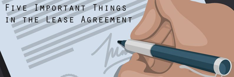 Five-Important-Things-in-the-Lease-Agreement