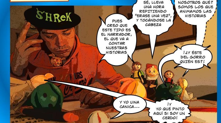 Historias corrientes elsoplo, viñetas de comic episodio 1, La liada
