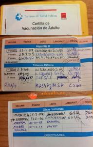 cartilla vacunación del adulto