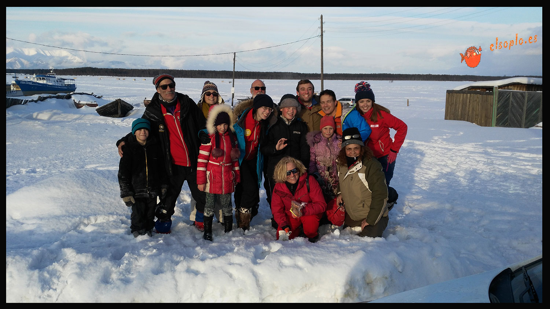 Con los Polar raid en Ust Barguzin