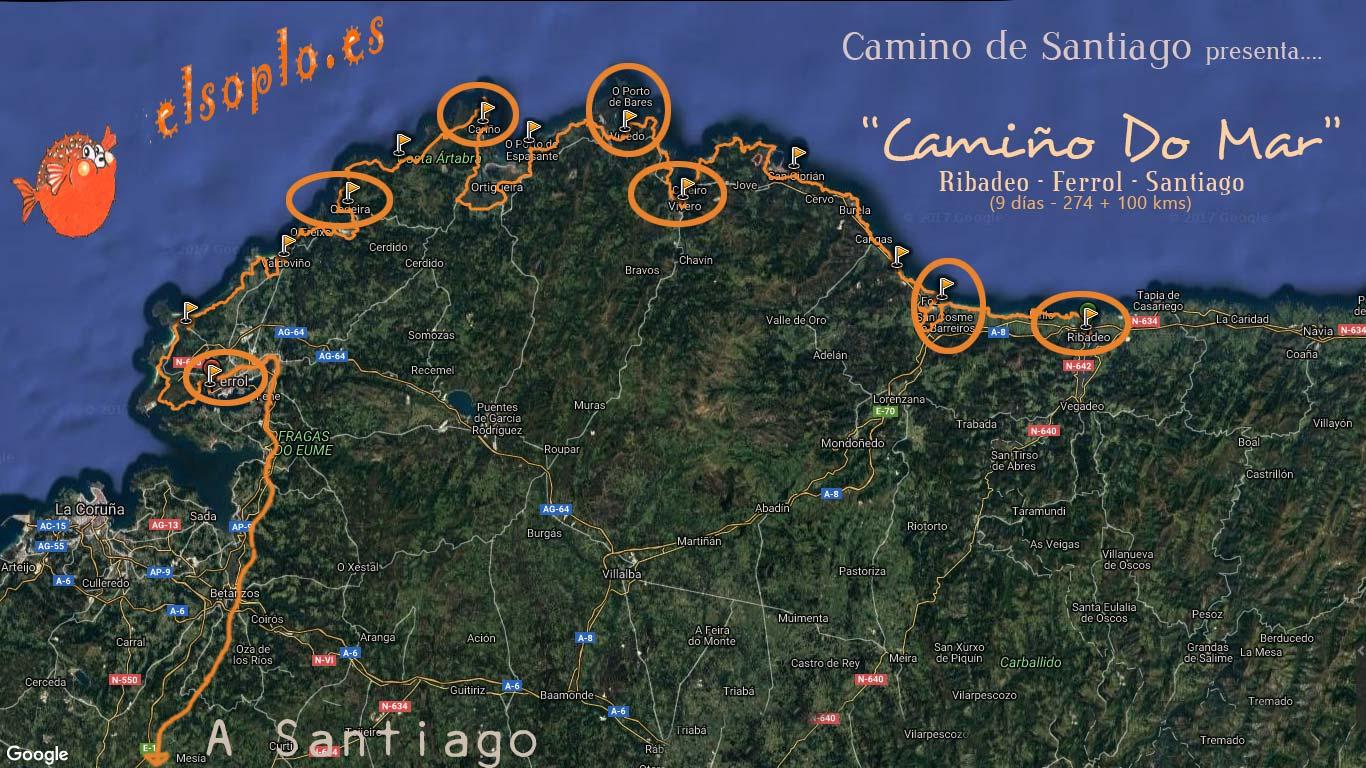 Camino de Santiago | Camino del Mar