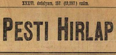 Pesti Hírlap, 1914