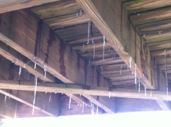 Deck from underneath