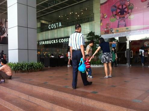 Spot the Starbucks at Tee Mall