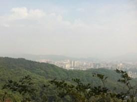 unbelievable vista across the city