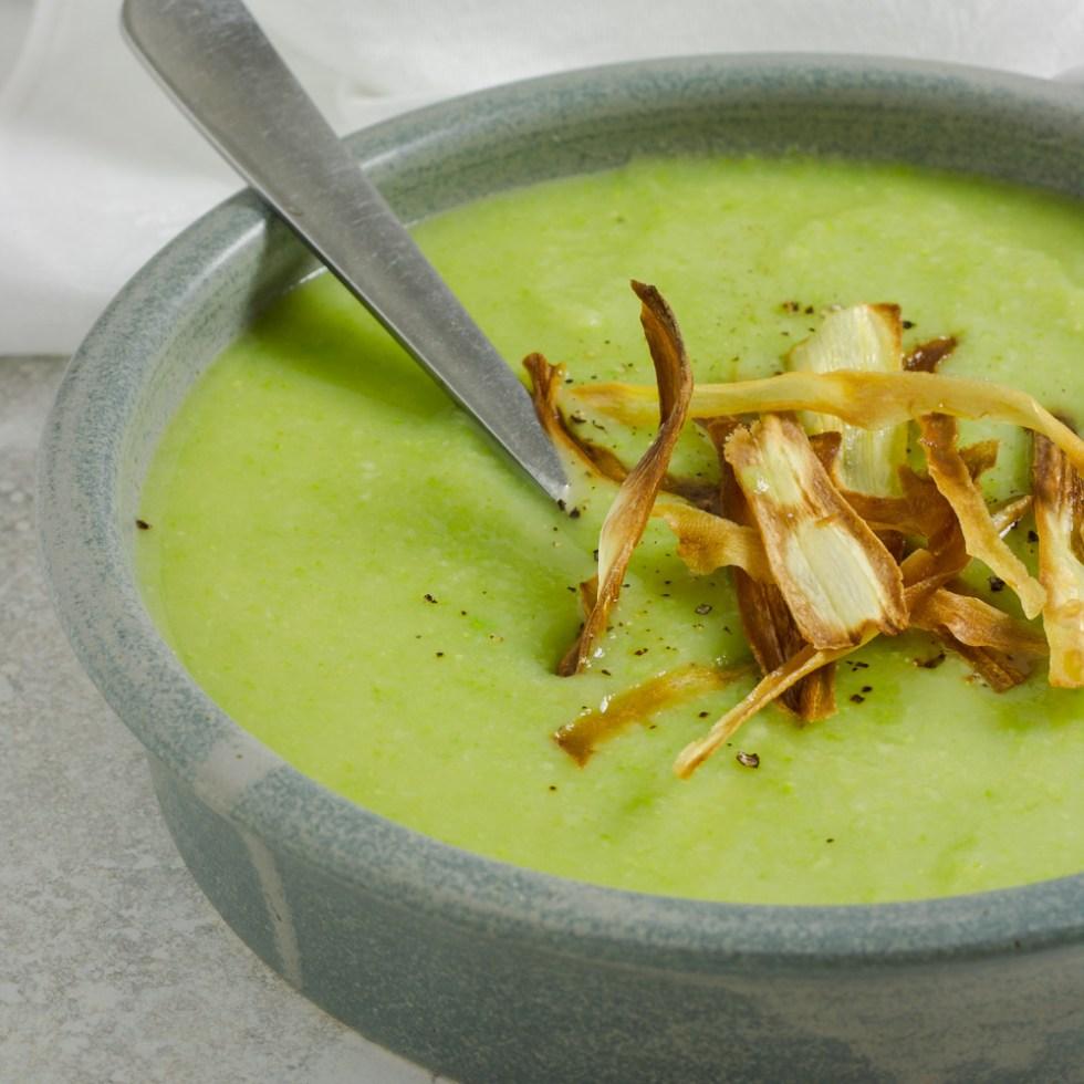 Parsnip & Pea Soup