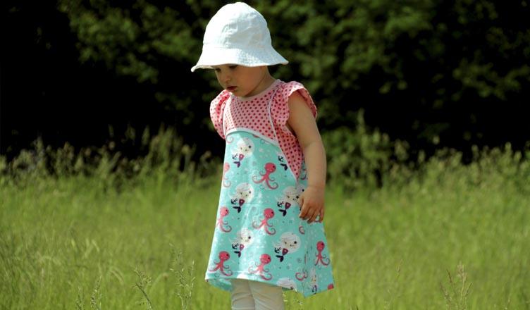 ELFINA Sommerkleid für Mädchen - Elstergl