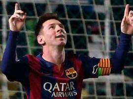 El Hat Trick de Messi