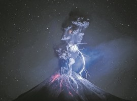 Fotografía del Volcán el Colima, la mejor del mundo