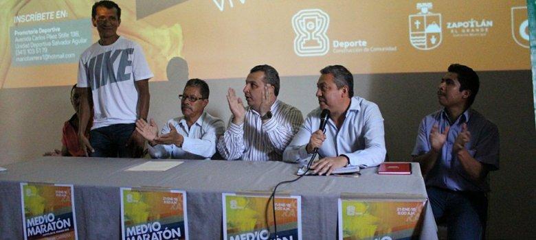 Anuncian para 21 de enero la segunda edición del medio maratón de Zapotlán el Grande