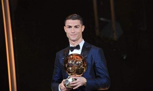 Cristiano Ronaldo ganó su quinto balón de Oro
