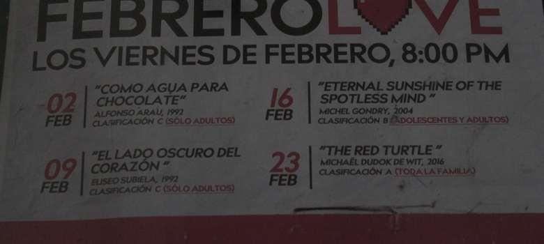 Cine para enamorados en Zapotlán el Grande