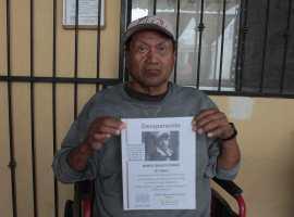 CRÓNICA   Dos años después, don Rubén sigue en busca de su hijo desaparecido
