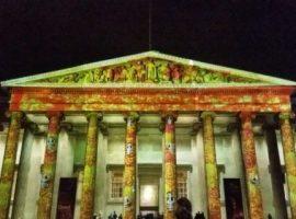 Festival de Día de Muertos en el Museo Británico.