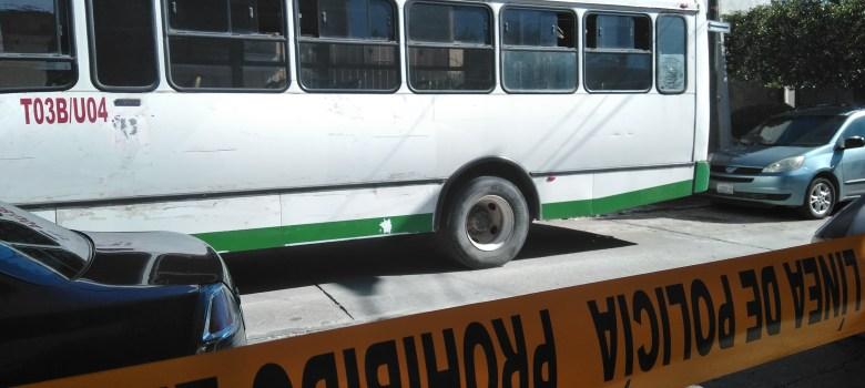 Hombre falleció de infarto en camión de transporte urbano