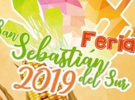 Todo listo para la Feria en San Sebastián del Sur