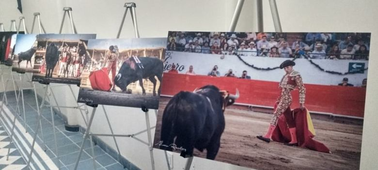 Exposición fotográfica taurina.