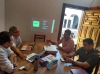La reunión se llevó a cabo este jueves en la sala de regidores, en presidencia municipal. (Foto: Mayra Vargas)