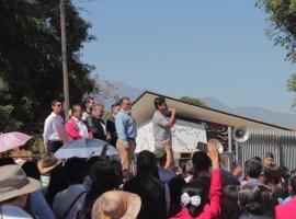 Cierra filas la comunidad normalista de Ciudad Guzmán
