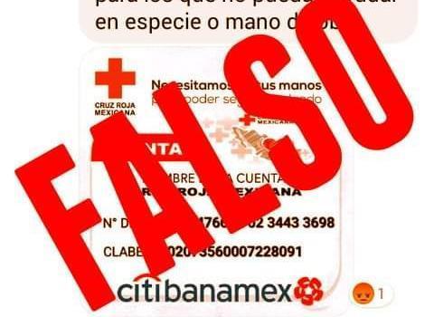 Alerta Cruz Roja Jalisco sobre presunto fraude con donaciones para San Gabriel