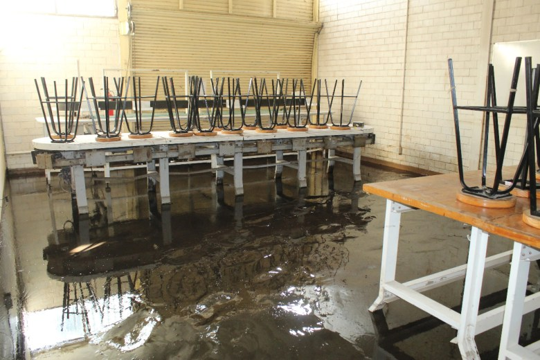 Inundación en Instituto Tecnológico de Ciudad Guzmán deja tres edificios con afectación