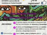 Hablarán sobre agrotóxicos en la agroindustria y sus afectaciones en Ciudad Guzmán