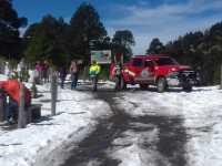 4500 personas subieron al Nevado el fin de semana