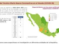 Llega a más municipios el Covid-19, se acumulan 4 defunciones