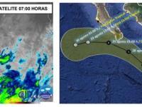 Continuarán lluvias por tormenta tropical Hernan